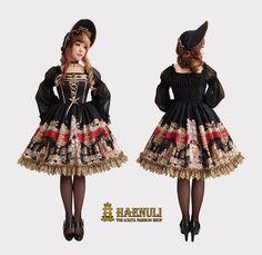 Haenuli - Angel Of Music OP - Black (S/M size)