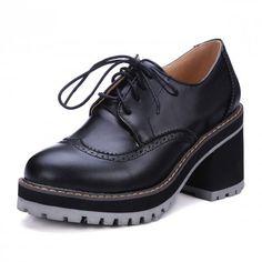 $36.91 (Buy here: https://alitems.com/g/1e8d114494ebda23ff8b16525dc3e8/?i=5&ulp=https%3A%2F%2Fwww.aliexpress.com%2Fitem%2FFashion-high-heels-PLUS-Size-34-43-Brogue-Oxford-Shoes-Women-Spring-Women-Shoes-sapatos-femininos%2F32670357360.html ) Fashion high heels PLUS Size 34-43 Brogue Oxford Shoes Women  Spring  Women Shoes sapatos femininos sapatilhas zapatos mujer z42 for just $36.91