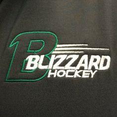 Charcoal Gray Zip Pull over $45 #BrookingsBlizzard #BlizzGear #hockey #merchandise