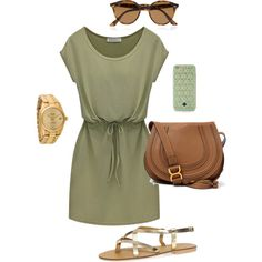 Untitled #120 by audreyfultz18 on Polyvore featuring Dorothy Perkins, Chloé, Rolex, Ray-Ban and Tory Burch