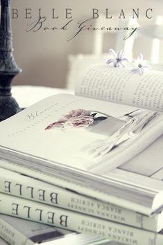 BELLE BLANC: book