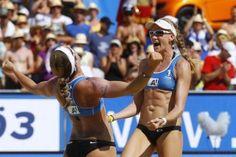 Kerri Walsh Jennings & Misty May-Treanor, Beach Volleyball Gold Medalists :)