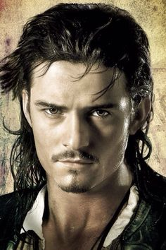 I have one request, Orlando Bloom:  Shiver me timbers!  Okay, well, with that look, you pretty much already did.