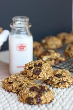 No Bake(Or Bake) Anytime Banana Oatmeal Chocolate Chip Cookies - The Diva-Dish