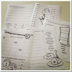 great dr seuss FREE printables, as well as a ton of other thematic resources!
