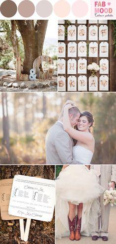 Rustic Wedding Board | fabmood.com