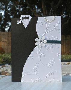 Wedding card....could adjust to make Valentine card etc.