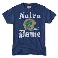 Notre Dame Football Clover T-Shirt