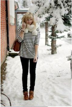 snowday fashion 18 Snow day, snow day! (28 photos)
