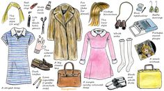 "How To Dress Up For Halloween: Wes Anderson Style ""Mangomini's illustrated how-tos"" on Hello Giggles"
