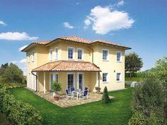 Kundenhaus Familie Böcker - #Einfamilienhaus von OSTRAUER Baugesellschaft mbH | HausXXL #Stadtvilla #Massivhaus #mediterran #Zeltdach
