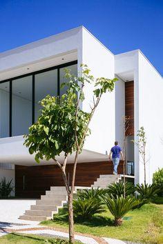 exterior Project modern residence Brasil