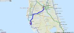 Driving Directions from 1000 S School Ave, Sarasota, Florida 34237 to Walt Disney World in Orlando, Florida 32830 | MapQuest