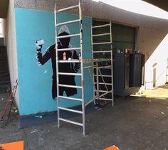 - Discover more Street Art at www.UrbanArtNow.com - #StreetArt #UrbanArt #Graffiti #Mural