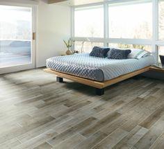Schöne Wohnideen Schlafzimmer Bodengestaltung Holzoptik Fliesen