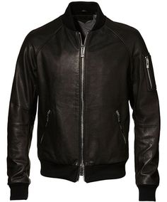 Rogue Leather Jock Jacket-Black