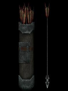 Skyrim Arrows, Elder Scrolls, Future Tattoos, Archery, Swords, Weapons, Tattoo Ideas, Island, Games