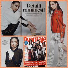 Avantaje magazine, April 2018 - Mathilde spring collection 18