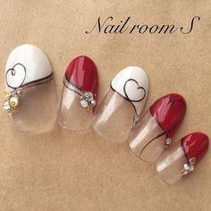 #젤레일#네일아트#네일#nail #nails#gelnails#nailart#naildesig #ブラウンネイル #ビジューネイル #バレンタインネイル #キラキラネイル#大人ネイル...|ネイルデザインを探すならネイル数No.1のネイルブック