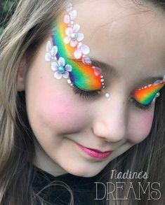Eye flower rainbows - Make Up