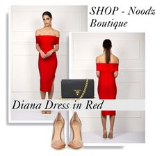 """""""SHOP - Noodz Boutique"""" by ladymargaret ❤ liked on Polyvore featuring Gianvito Rossi and Prada"""