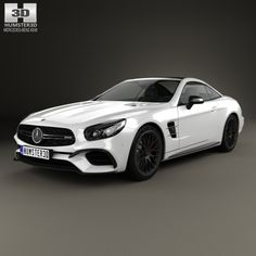 Buy Mercedes-Benz SL-Class SL 63 AMG 2015 by on The model was created on real car base. Mercedes Sl500, Mercedes Benz Maybach, Never Settle Wallpapers, Car 3d Model, Tesla S, Super Sport Cars, Luxury Cars, Cars For Sale, Dream Cars
