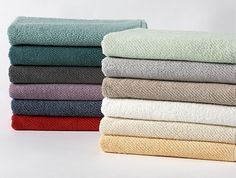 Air Weight™ Bath linens inspired by nature. Fair Trade™ certified. Made with GOTS certified organic cotton.