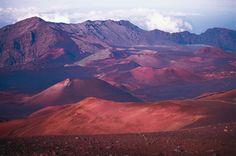 Spinner Wheel des Elements Feuer: Haleakala Krater auf Hawaii, Pazifik
