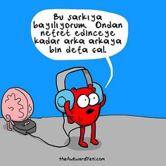 29 Funny and Charming Comics From The Awkward Yeti Akward Yeti, The Awkward Yeti, Memes Humor, Funny Quotes, Funny Memes, Hilarious, Funniest Memes, Qoutes, Heart And Brain Comic