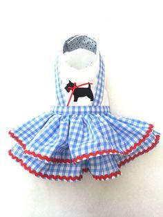 Vestido de ropa perro pequeño Chihuahua T  por TeddyFaceDogClothes