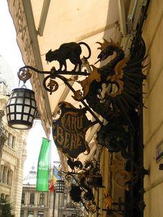Caru cu Bere - a famous historic restaurant in Bucharest Romania