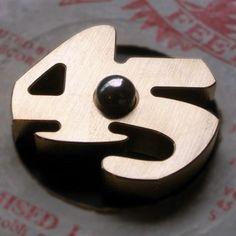 diskunion: 45 ADAPTER / 45 METAL HOLDER / BRASS (45 真ちゅう製メタルホルダー / 真鍮色)