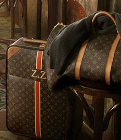 Someday I will have monogramed LV luggage. Lv Luggage, Louis Vuitton Luggage, Louis Vuitton Monogram, Lv Handbags, Beautiful Bags, My Bags, Handbag Accessories, Purses, Fashion Bags