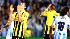 Borussia Dortmund were held to a scoreless draw by Malaga in Champions League first leg at Estadio La Rosaleda. League News, Champions League, Draw, Legs, Sports, Borussia Dortmund, Hs Sports, To Draw, Sketches