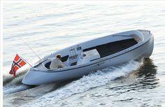 Solvik 22' shoreboat.