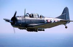 Douglas SBD Dauntless, Bomber, Dauntless, Douglas, Navy, WW2