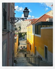 Beautiful day in Lisbon: Some sun some delicious soup and lots of aimless wondering up and down its narrow cobbled streets