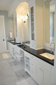 Sis, this shows your idea of a cabinet sitting on vanity top. You could put glass in it or mirror.