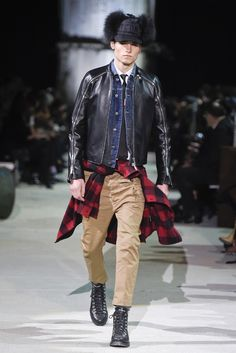 Dsquared2 Men's RTW Fall 2015