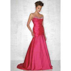 Neon Pink Bridesmaid Dresses