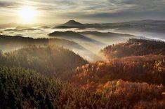 Bohemian Switzerland, Czech Republic  Gabrielina stezka - nejoblíbenější turistická trasa Českosaského Švýcarska /