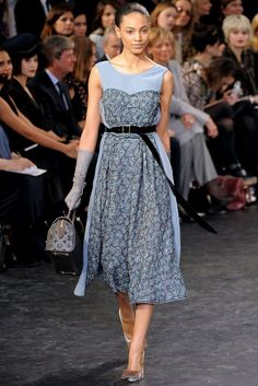 Louis Vuitton Fall 2010 Ready-to-Wear Fashion Show - Ariel Meredith
