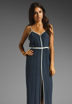 PARKER Contrast Dress in Ink at Revolve Clothing - Free Shipping!