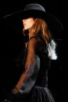 Lindsey Wixson, Saint Laurent S/S 2013, Paris Fashion Week