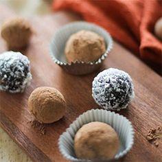 Raw Vegan Chocolate Truffles