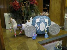 Cinderella pumpkin for a pumpkin decorating contest