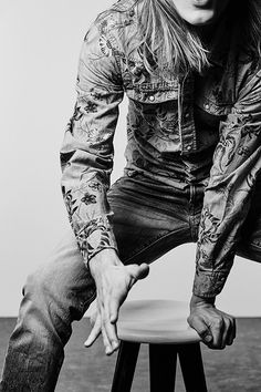 cooles Jeanshemd für ihn