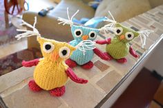 Ravelry: Owl Babies pattern by Susan B. Anderson