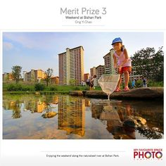 **Public Spaces in Our City - What makes a public space a great place for the community? ** Thinking of trying out something different this weekend? Let's go #fishing along the naturalised river at #Bishan Park! This was a shot by Ong Yi Chao, Merit Prize winner of #URA's 'My Favourite Space' Photo Competition #sgheartlands