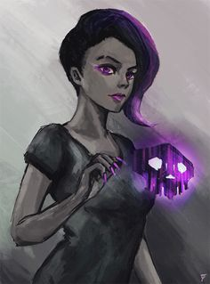 "dreamsandabyss: "" Sombra. had to edit the gif so the file would be smaller. the original is here. """